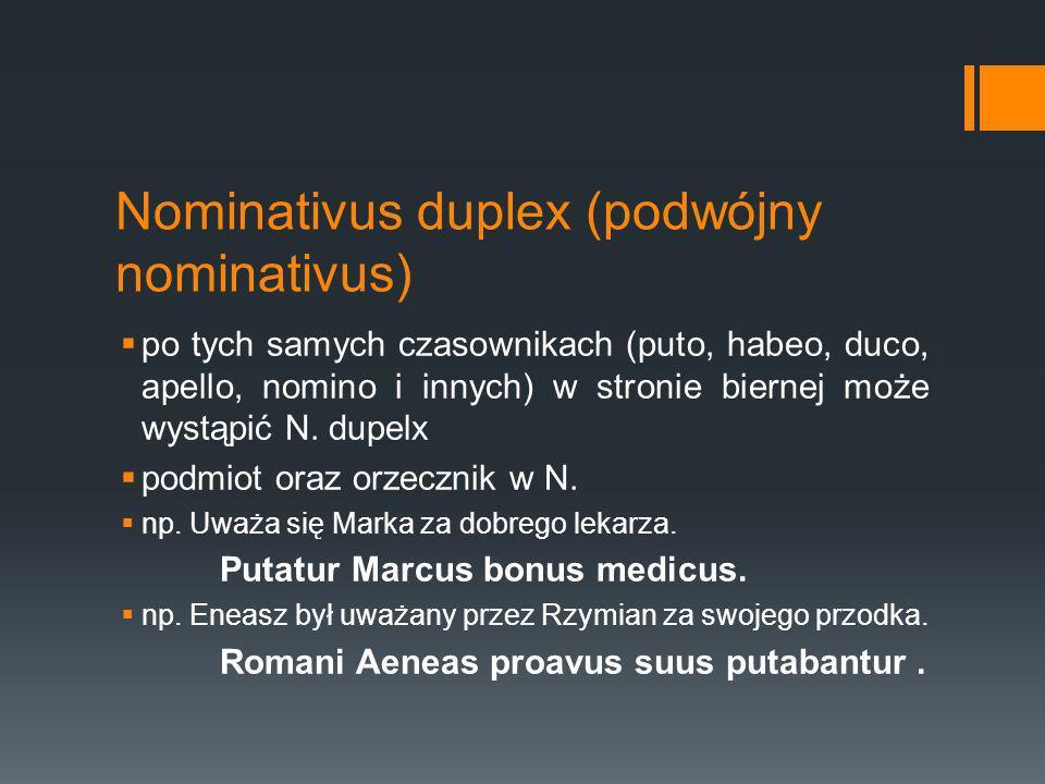 Nominativus duplex (podwójny nominativus)