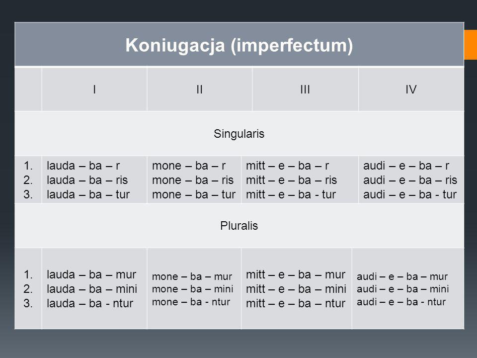 Koniugacja (imperfectum)