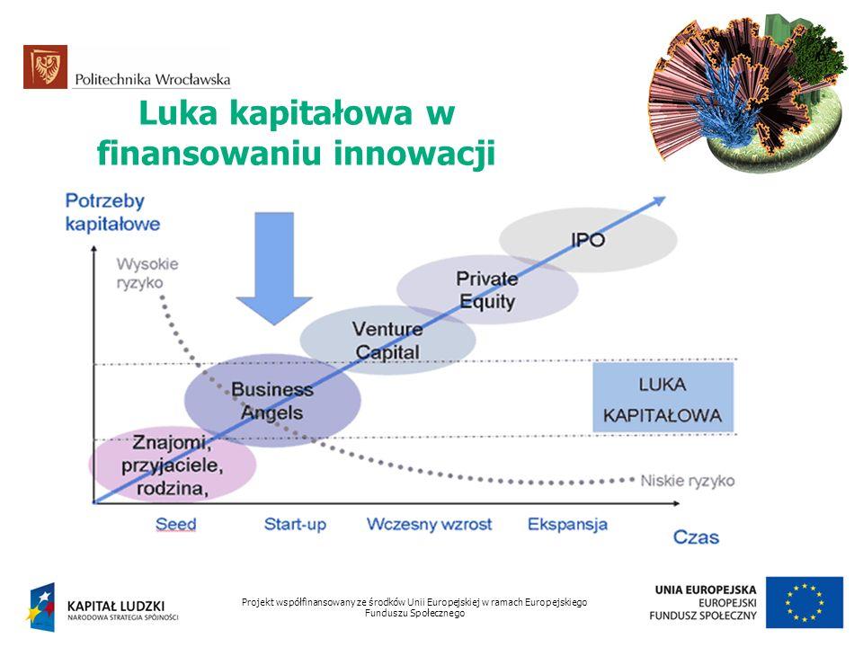 Luka kapitałowa w finansowaniu innowacji