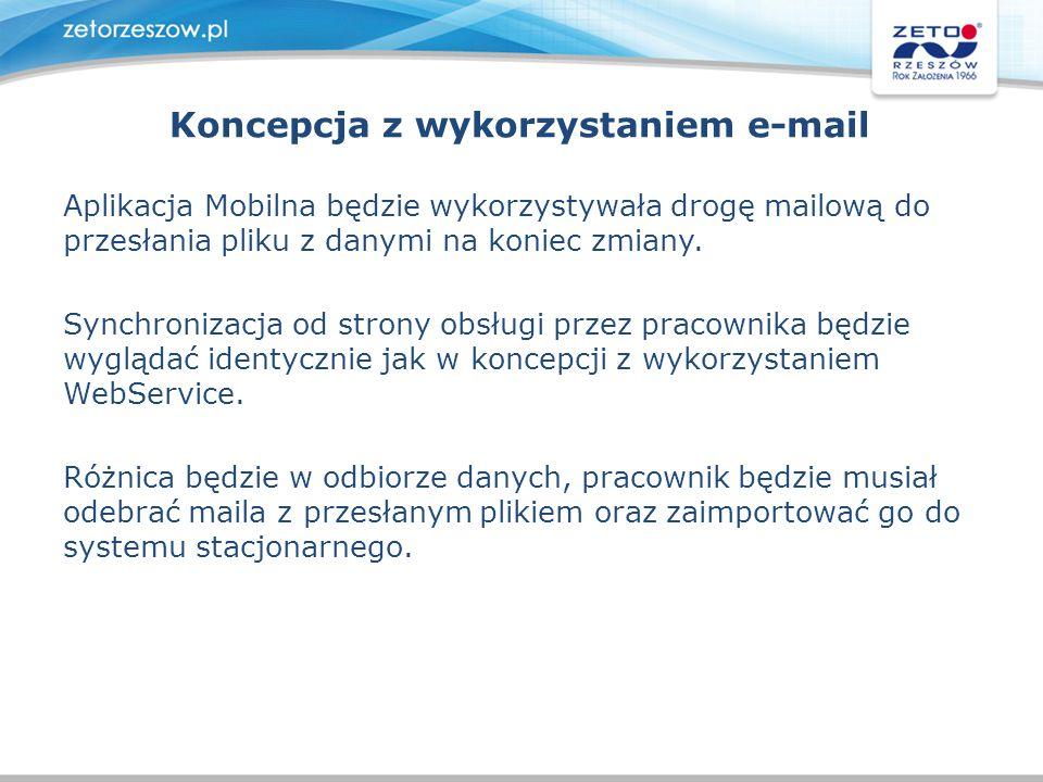 Koncepcja z wykorzystaniem e-mail