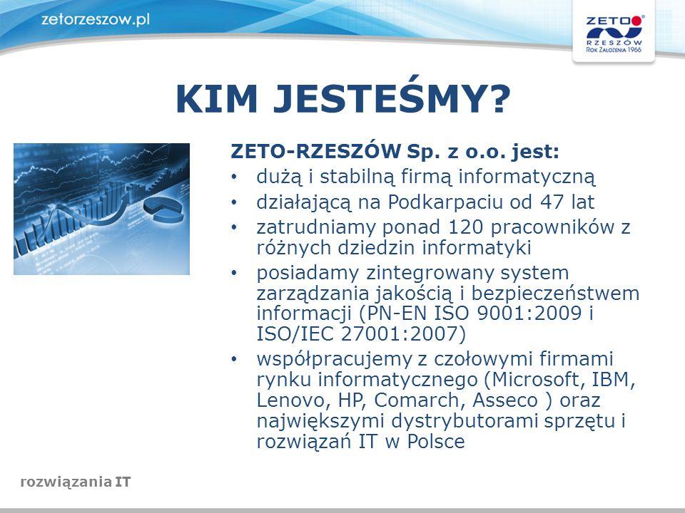 KIM JESTEŚMY ZETO-RZESZÓW Sp. z o.o. jest: