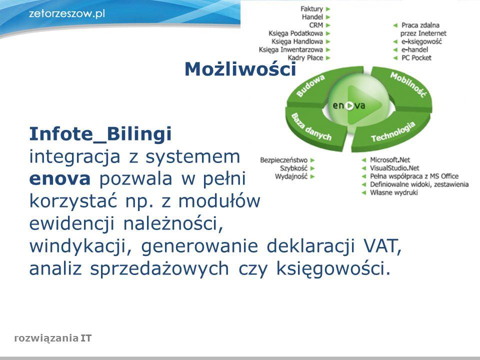 windykacji, generowanie deklaracji VAT,