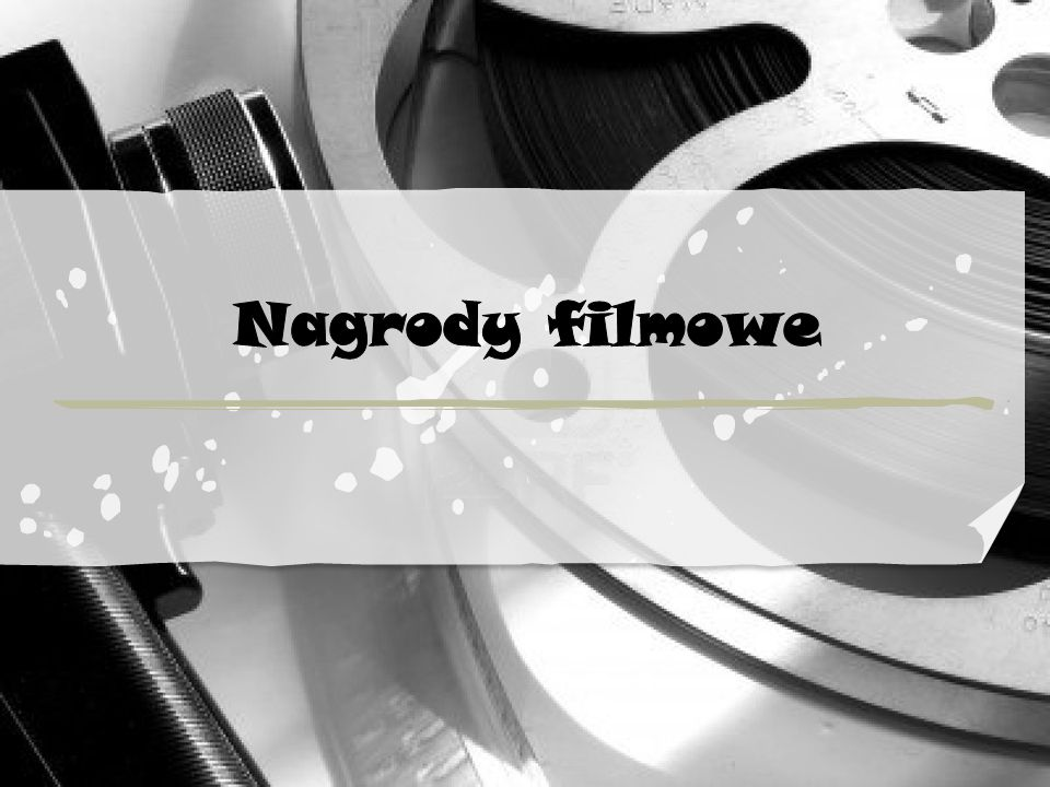 Nagrody filmowe