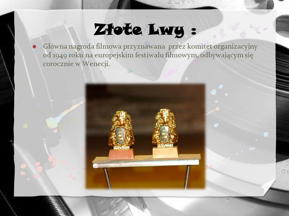 Złote Lwy :