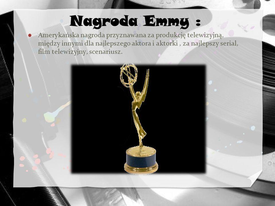 Nagroda Emmy :