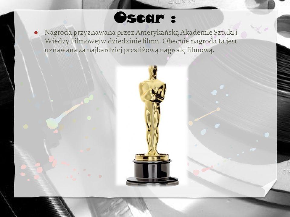 Oscar :