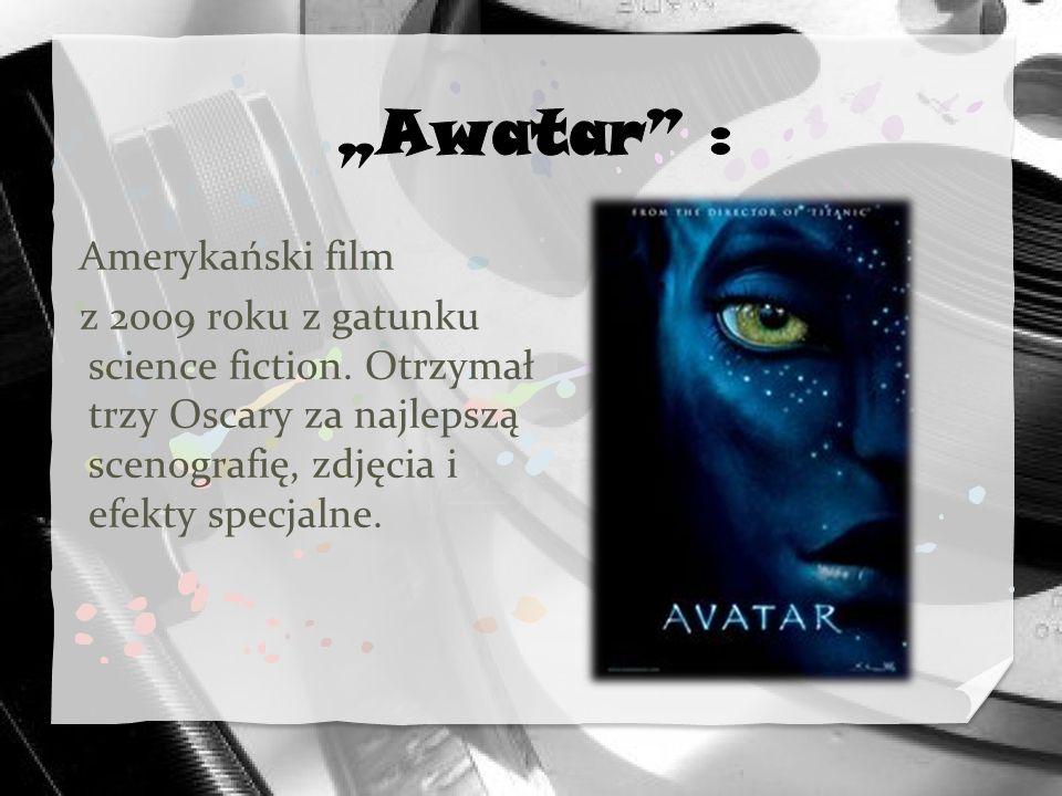 """""""Awatar : Amerykański film"""