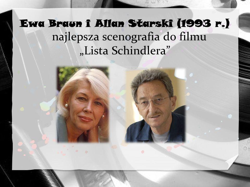 Ewa Braun i Allan Starski (1993 r