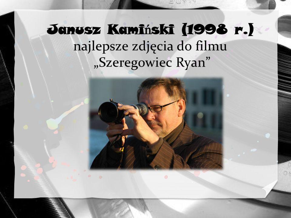 """Janusz Kamiński (1998 r.) najlepsze zdjęcia do filmu """"Szeregowiec Ryan"""