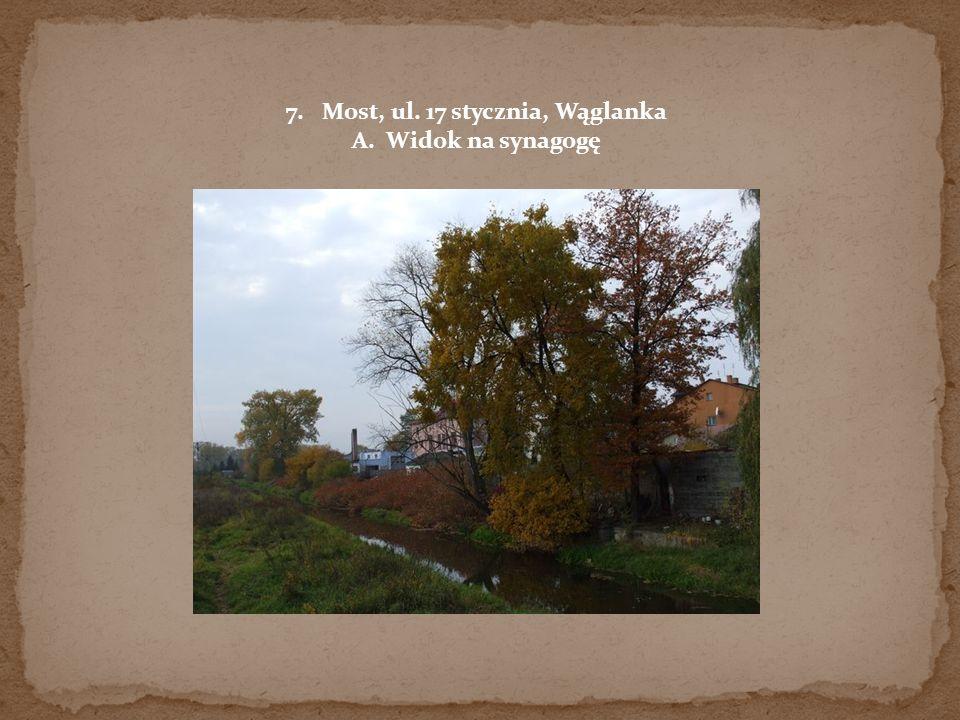 Most, ul. 17 stycznia, Wąglanka