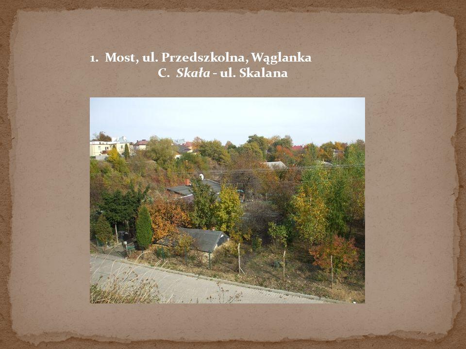 1. Most, ul. Przedszkolna, Wąglanka