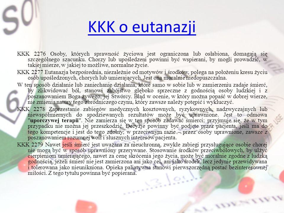 KKK o eutanazji