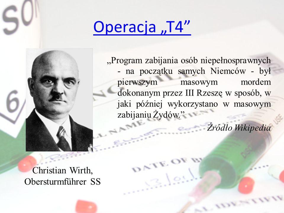 Christian Wirth, Obersturmführer SS