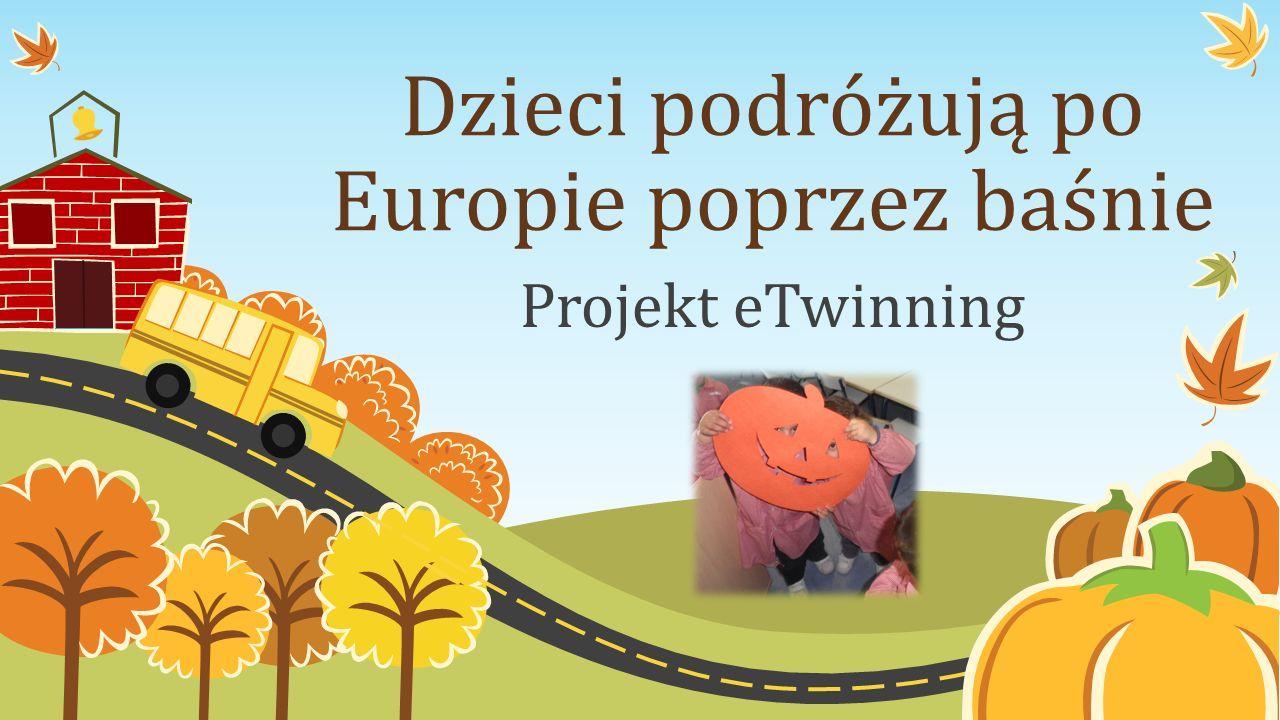 Dzieci podróżują po Europie poprzez baśnie