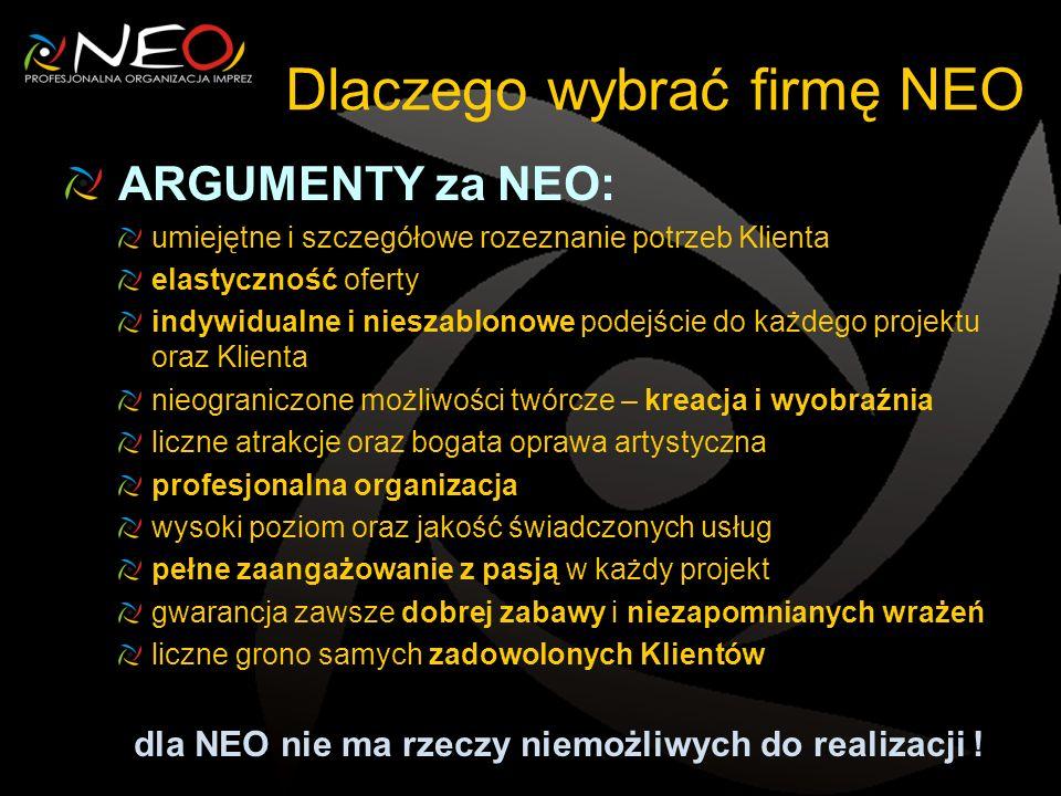 Dlaczego wybrać firmę NEO