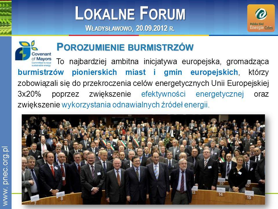 Lokalne Forum Porozumienie burmistrzów Władysławowo, 20.09.2012 r.