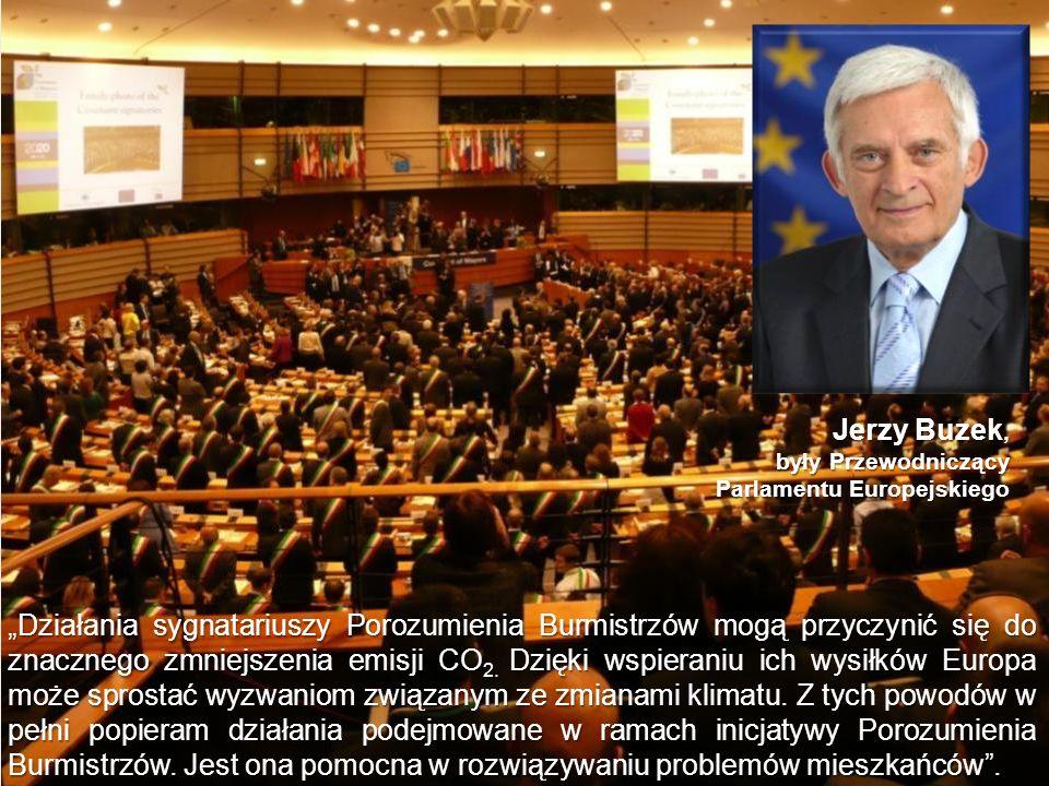 Jerzy Buzek, były Przewodniczący. Parlamentu Europejskiego.