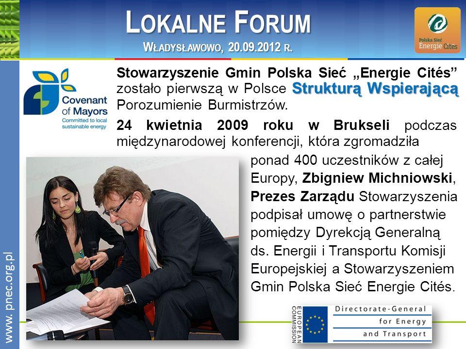 Lokalne Forum Władysławowo, 20.09.2012 r.