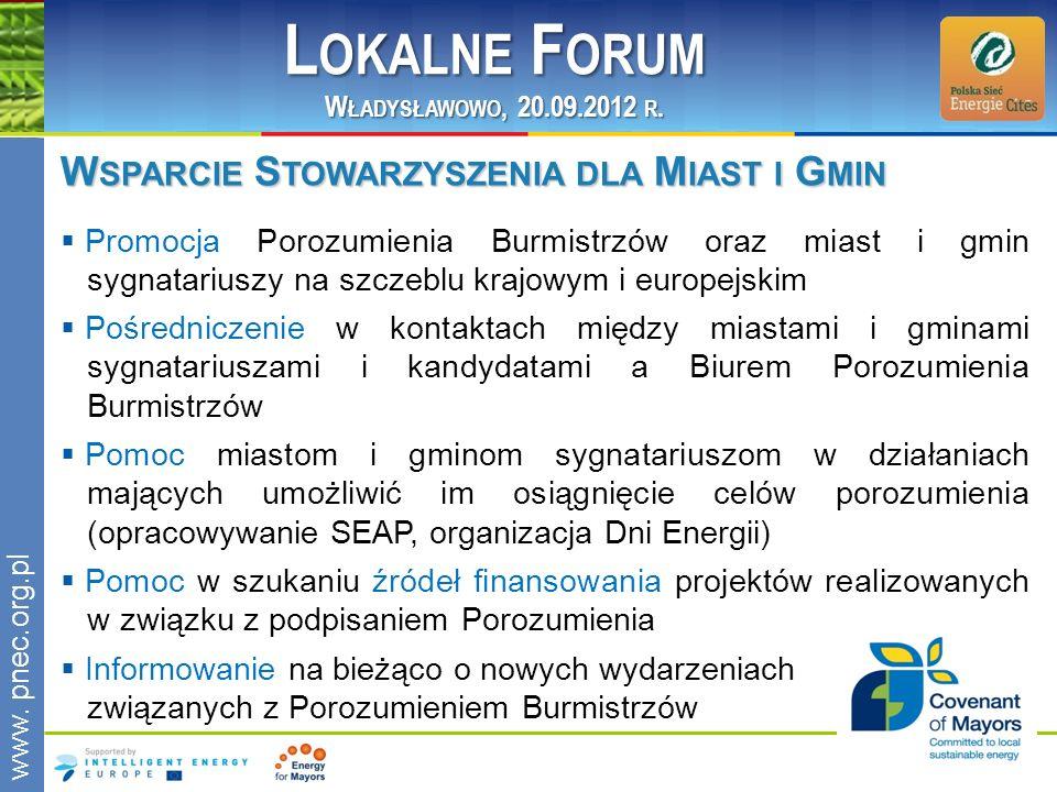 Lokalne Forum Wsparcie Stowarzyszenia dla Miast i Gmin