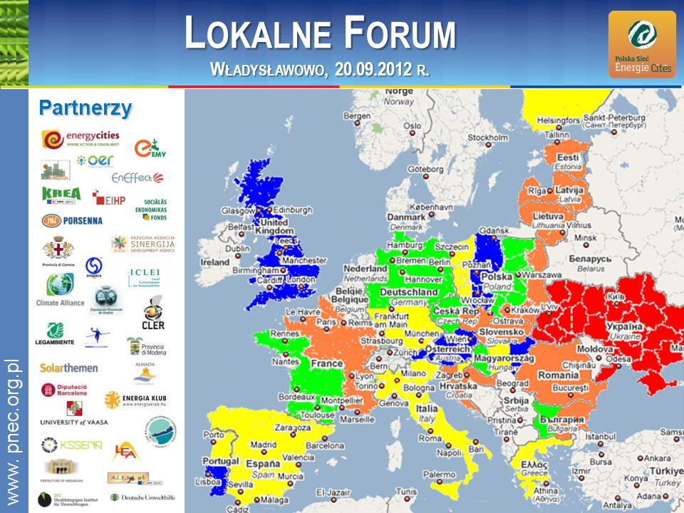 Lokalne Forum Partnerzy Władysławowo, 20.09.2012 r. www. pnec.org.pl