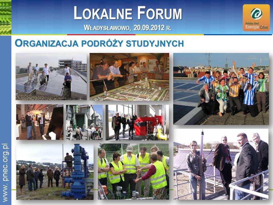 Lokalne Forum Organizacja podróży studyjnych