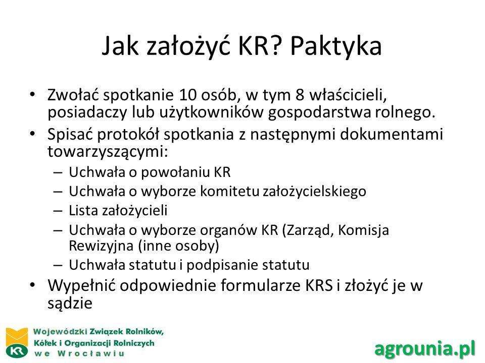 Jak założyć KR Paktyka agrounia.pl