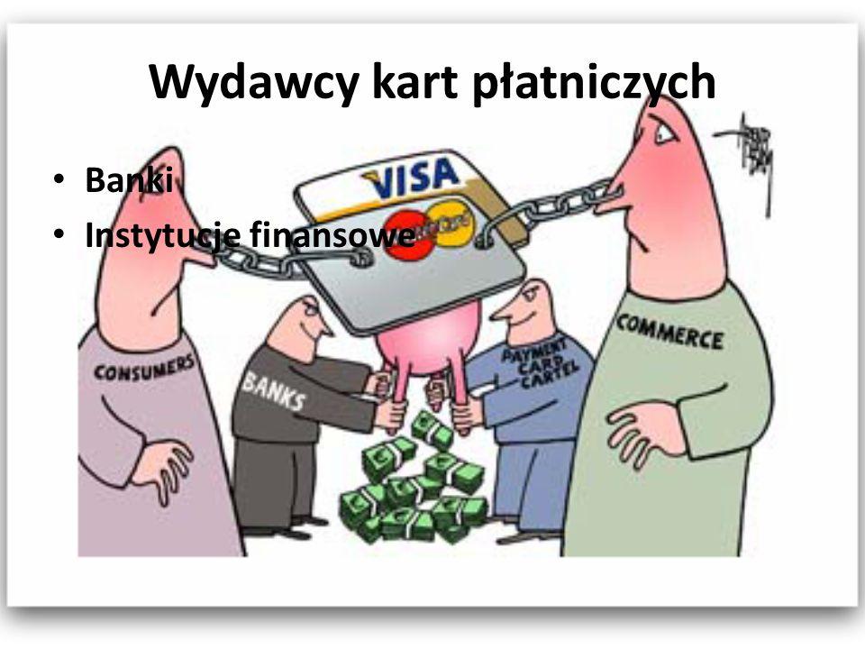 Wydawcy kart płatniczych