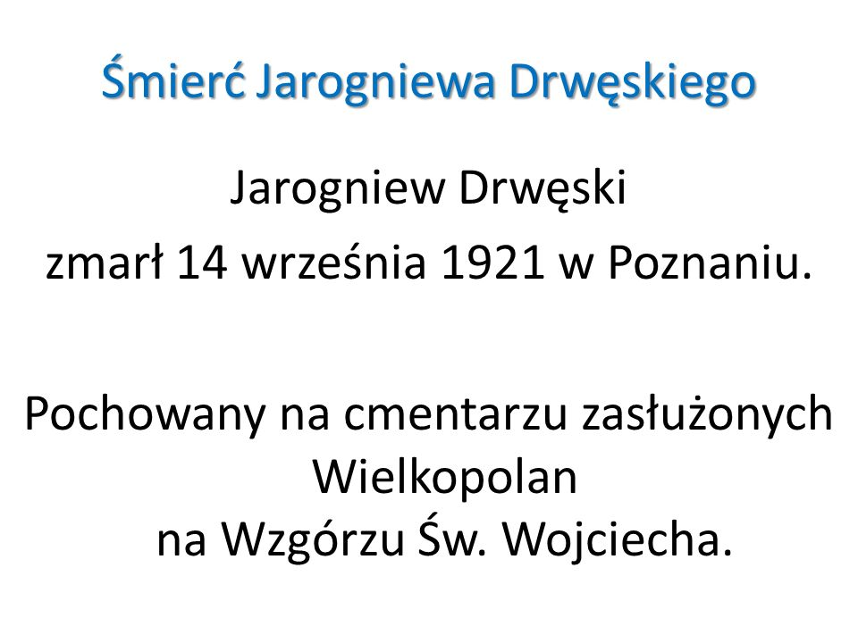 Śmierć Jarogniewa Drwęskiego