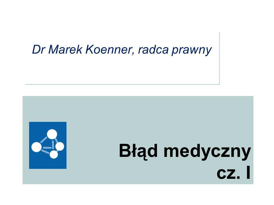 Dr Marek Koenner, radca prawny