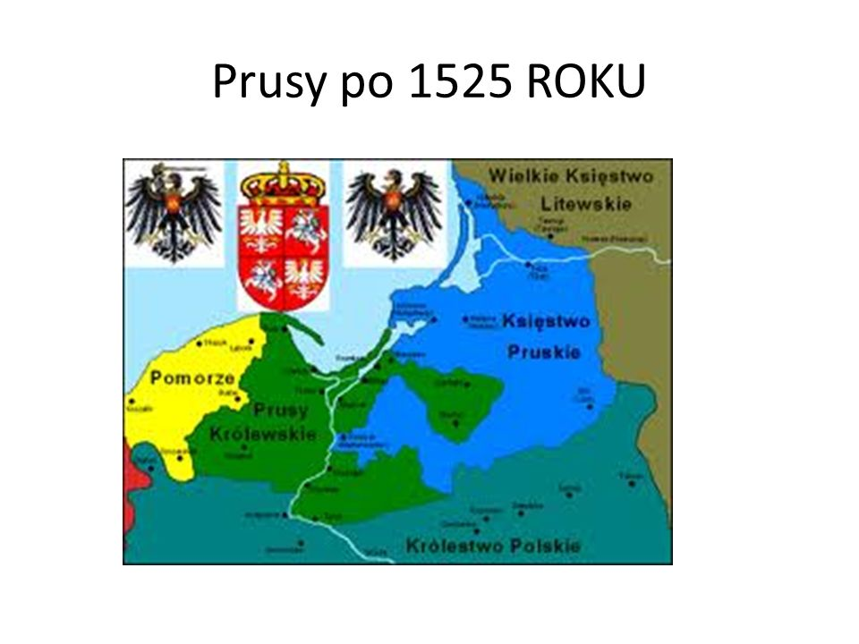 Prusy po 1525 ROKU