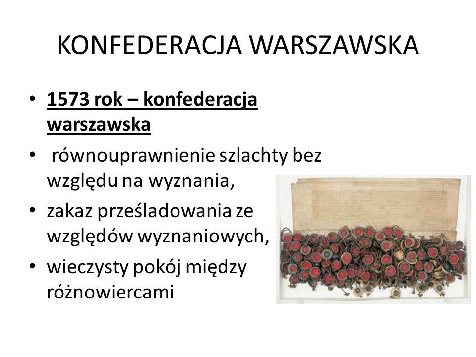 KONFEDERACJA WARSZAWSKA