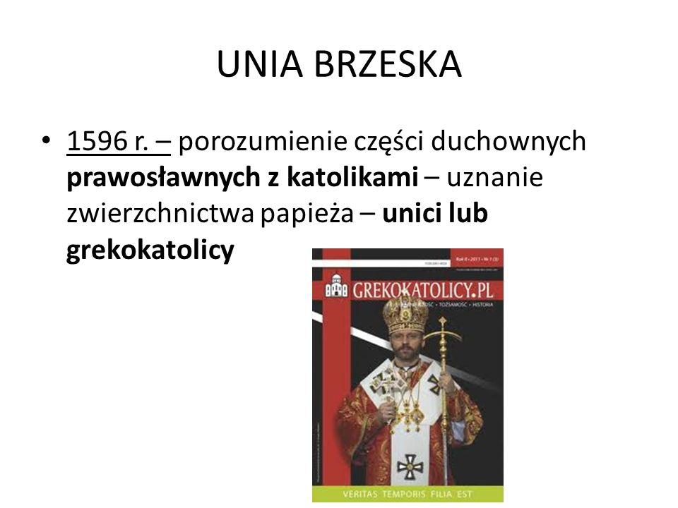 UNIA BRZESKA 1596 r.