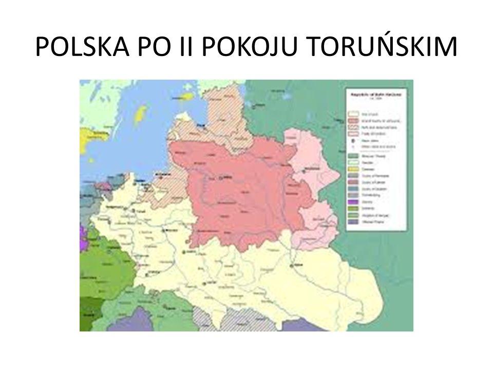 POLSKA PO II POKOJU TORUŃSKIM