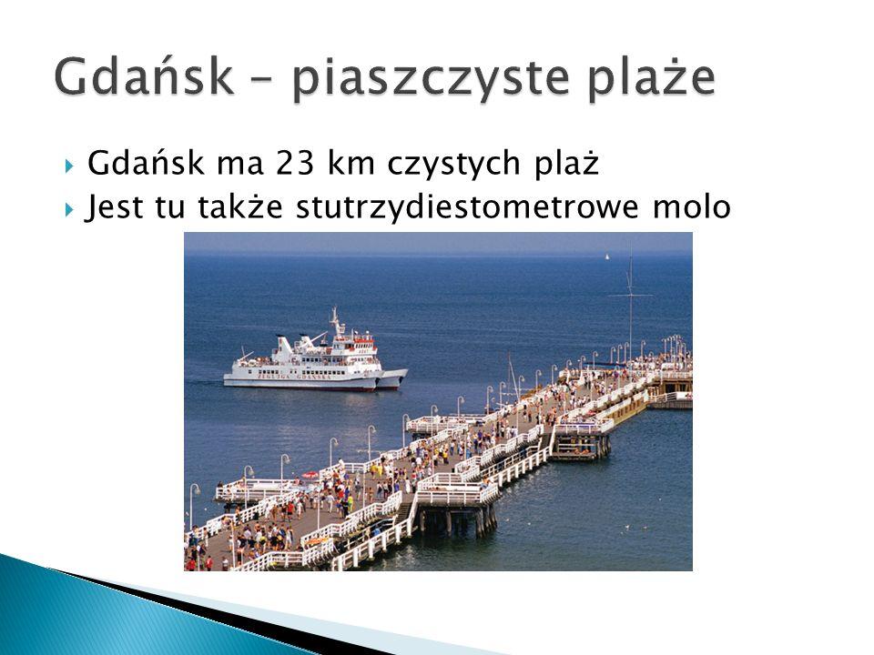 Gdańsk – piaszczyste plaże