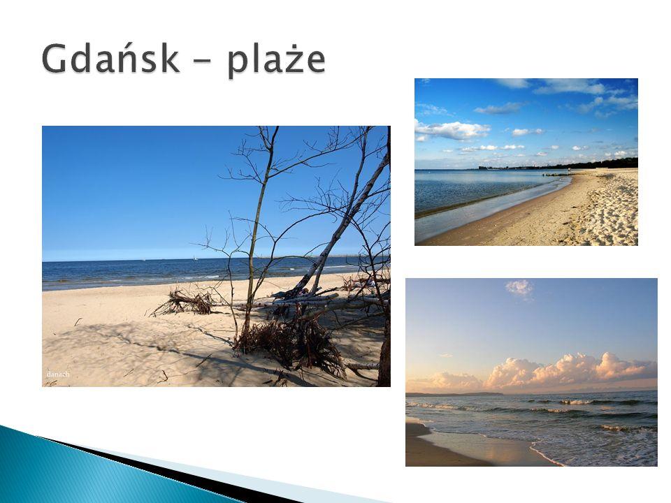Gdańsk - plaże