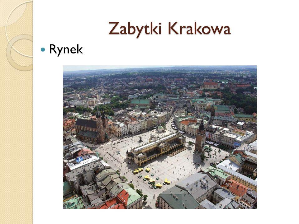 Zabytki Krakowa Rynek