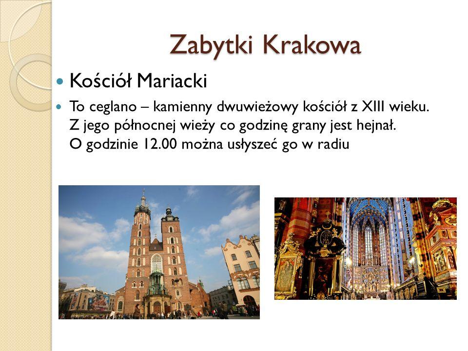 Zabytki Krakowa Kościół Mariacki