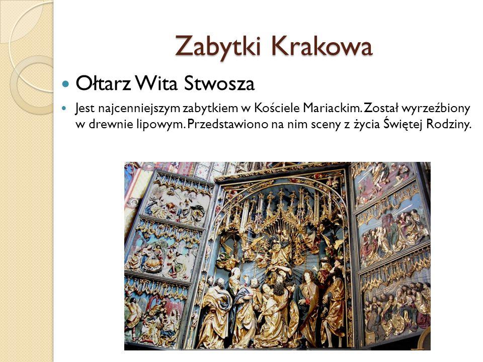 Zabytki Krakowa Ołtarz Wita Stwosza