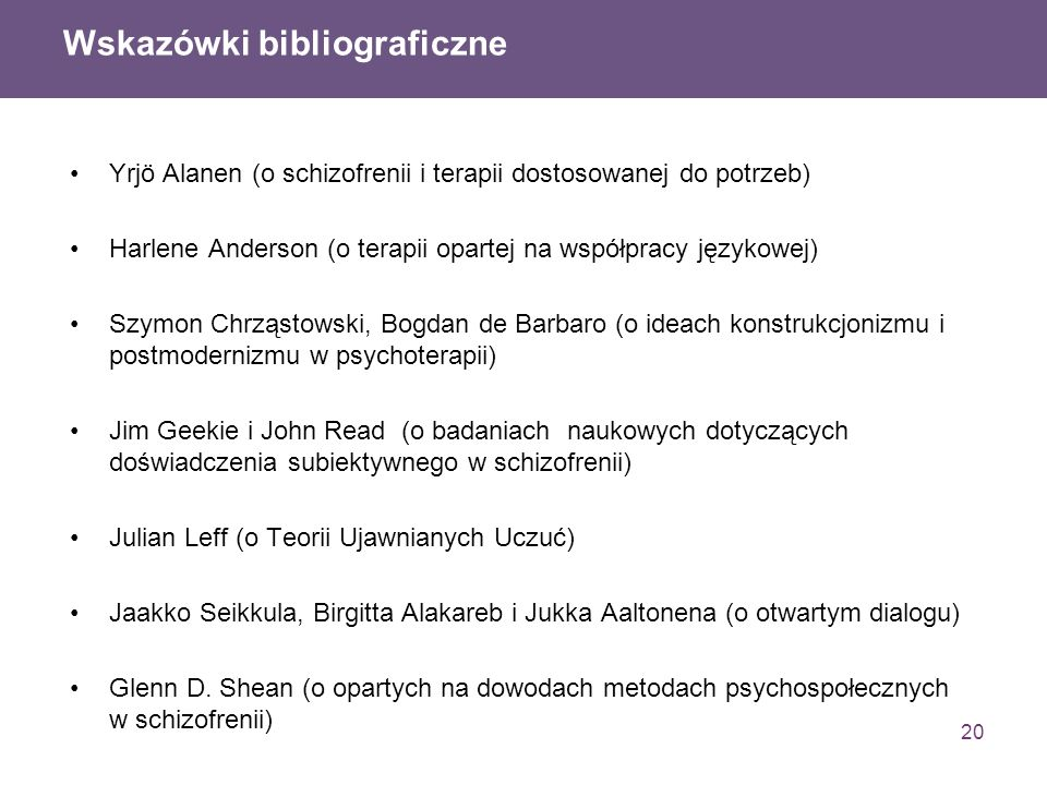 Wskazówki bibliograficzne