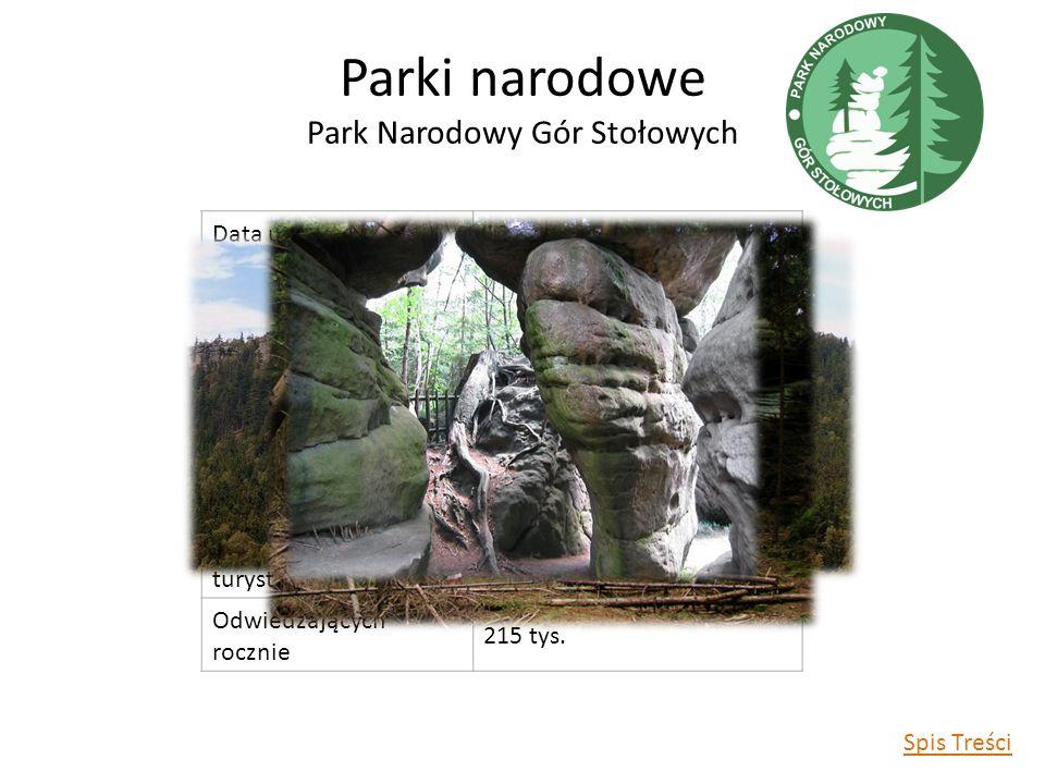 Parki narodowe Park Narodowy Gór Stołowych
