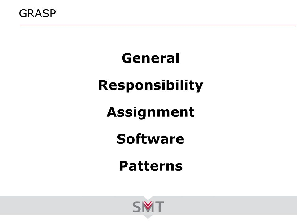 General Responsibility Assignment Software Patterns