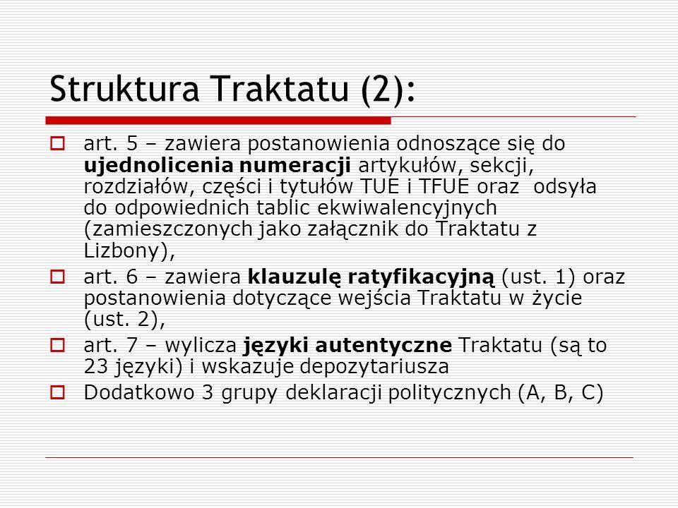 Struktura Traktatu (2):