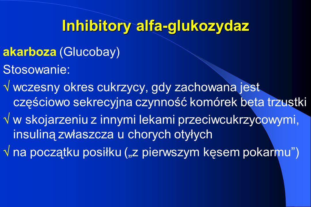 Inhibitory alfa-glukozydaz
