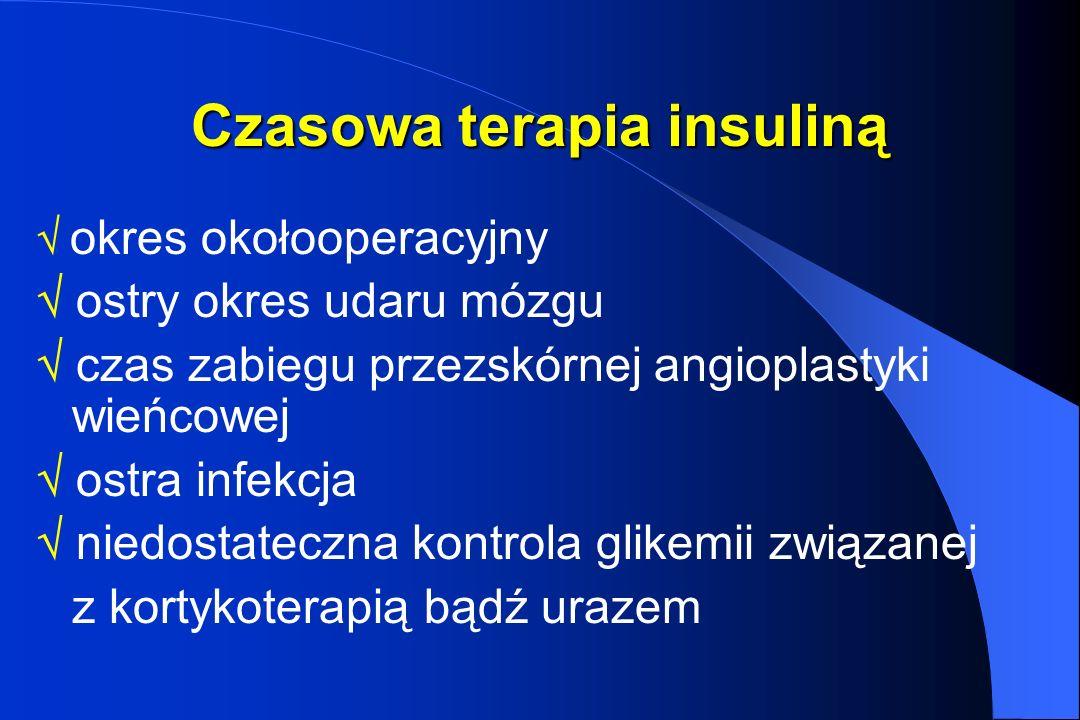 Czasowa terapia insuliną