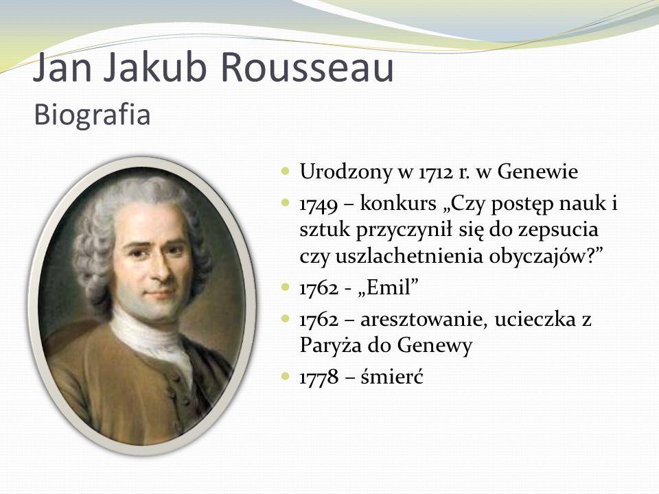 Jan Jakub Rousseau Biografia
