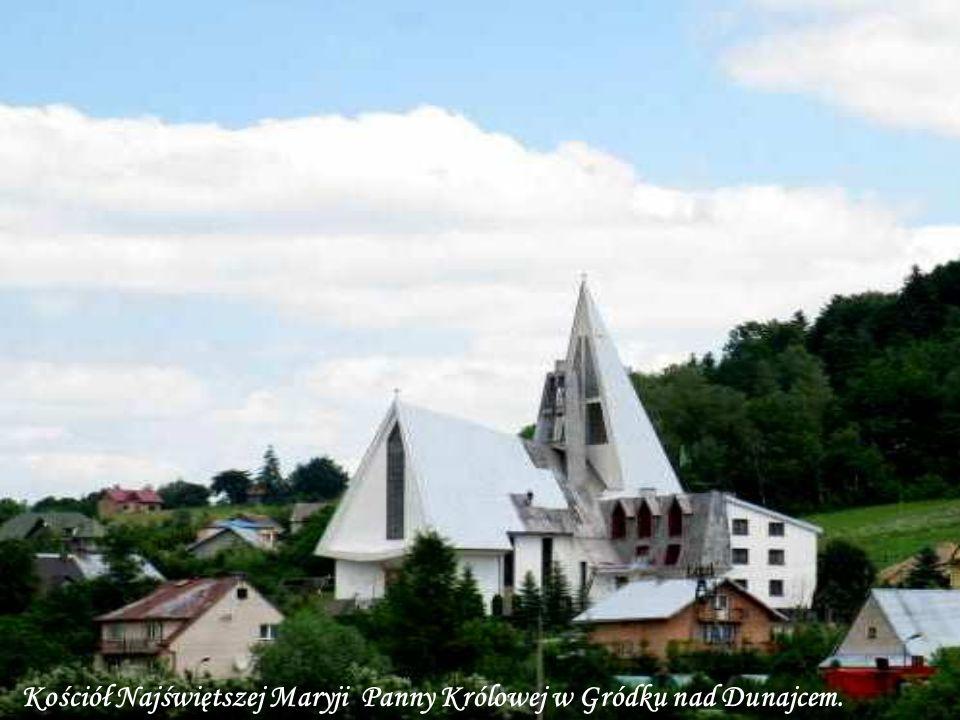 Kościół Najświętszej Maryji Panny Królowej w Gródku nad Dunajcem.