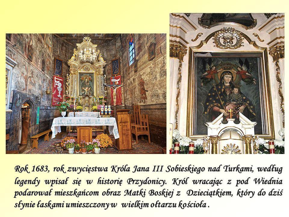 Rok 1683, rok zwycięstwa Króla Jana III Sobieskiego nad Turkami, według legendy wpisał się w historię Przydonicy.