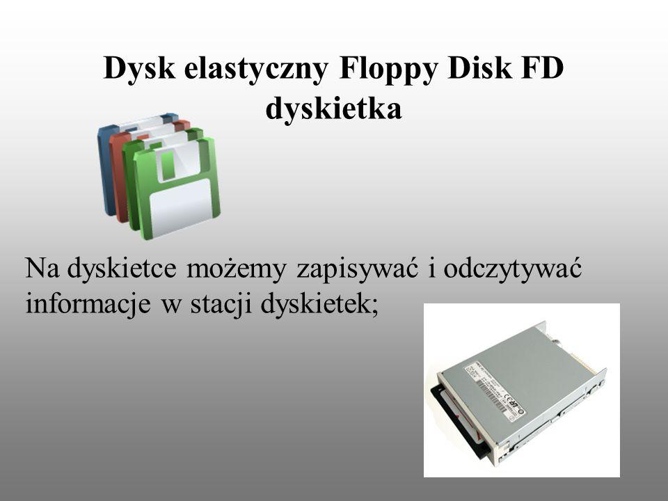 Dysk elastyczny Floppy Disk FD dyskietka