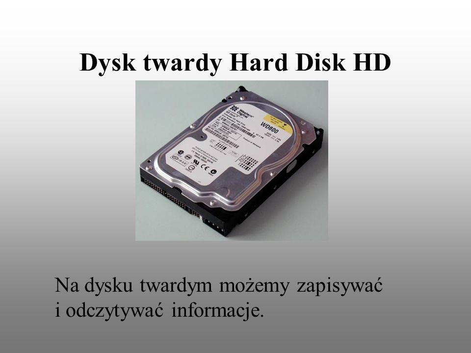 Dysk twardy Hard Disk HD