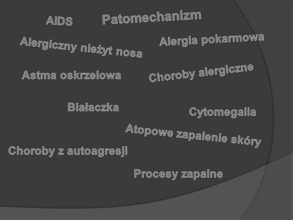 Alergiczny nieżyt nosa Atopowe zapalenie skóry